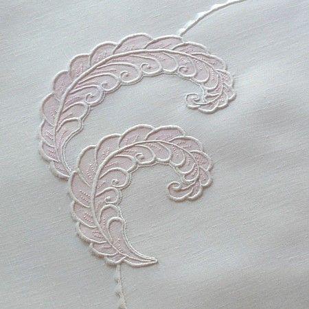 Em's Heart Antique Linens -Vintage Madeira Embroidered Mats Napkins Set