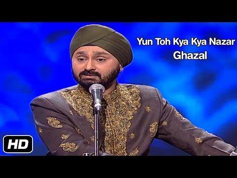 Jaswinder Singh - Yun Toh Kya Kya Nazar - Ghazal | Idea Jalsa - YouTube