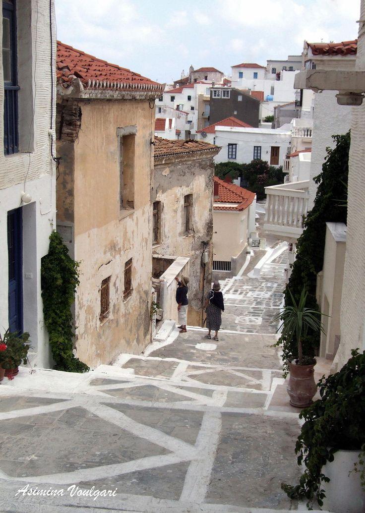 Chora ,Andros, Greece