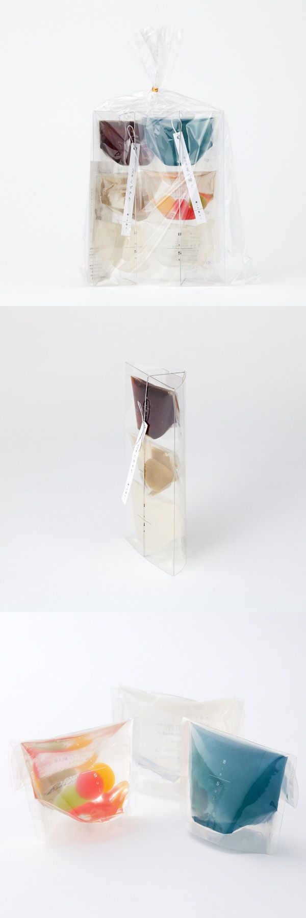 ISSUI「水乃果 くずきり」「水乃果 夏の縁日」Japanese sweets (One dessert completes with three components in the package.)