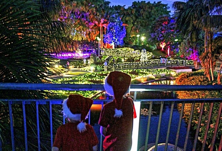 ENCHANTED GARDEN  Where is it: Spectacle Gardens, Roma Street Parklands What's it all about: Fun activities and a beautiful light display for Christmas!   How can I join in: Free to visit, so head along every night in the lead up to Christmas! The gardens open from 6:30pm