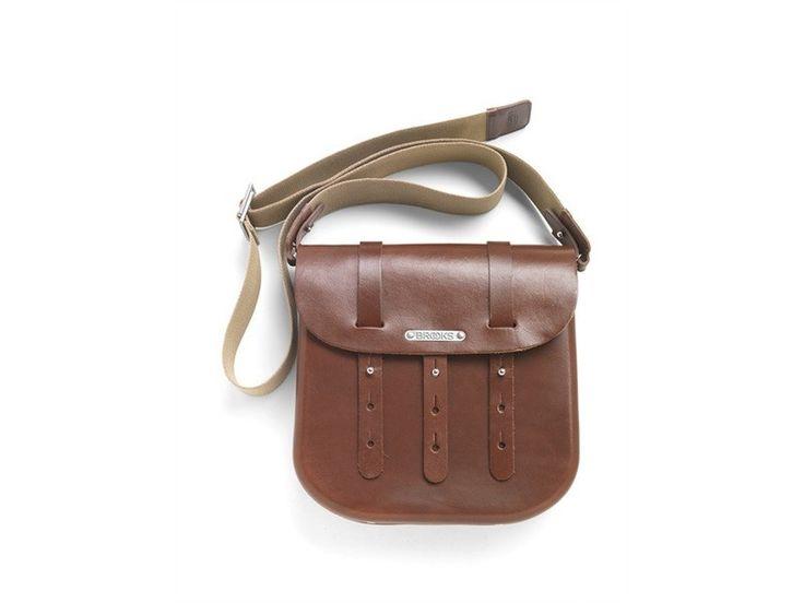 Brooks B3 Leather Bicycle / Messenger Bag