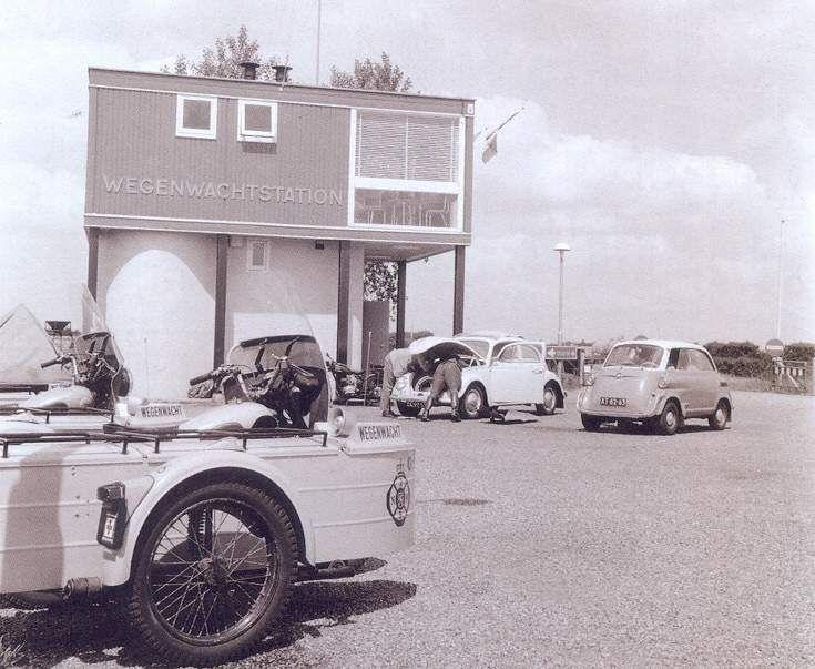 Wegenwacht vroegerFoto's uit de oude doos - AutoWeek.nl