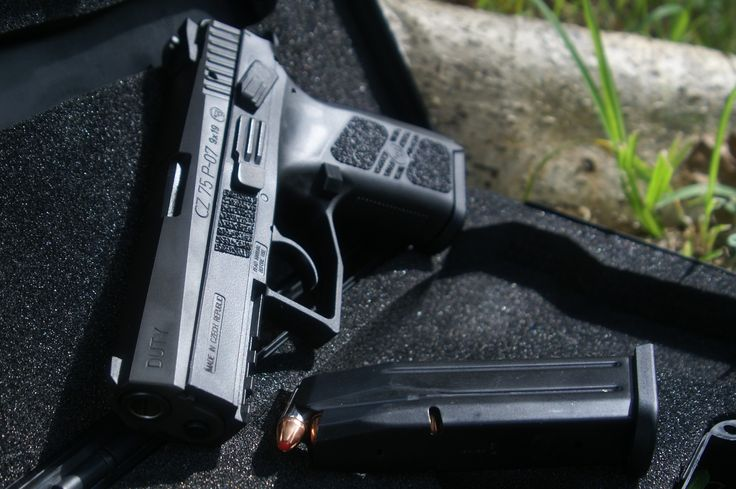 CZ 75 P-07 Duty: The Definition of Gunmetal Find our speedloader now!  http://www.amazon.com/shops/raeind
