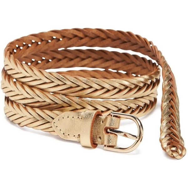 Old Navy Womens Braided Skinny Belt (23 BRL) ❤ liked on Polyvore featuring accessories, belts, wide woven belt, metal belts, wide belt, braided belt and thin braided belt