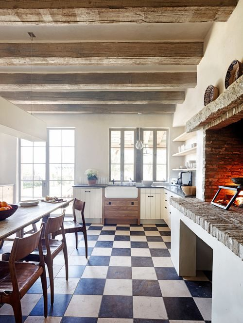 Eat In Kitchen Furniture Open Plan Kitchen Interior Designing Ideas Low Hanging Crystal Chandelier Shade Plain Beige Backsplash Yellow Padded Seat Two Hanging Lamps