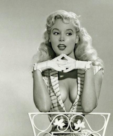 Betty Brosmer - how is her waist so small?!?!