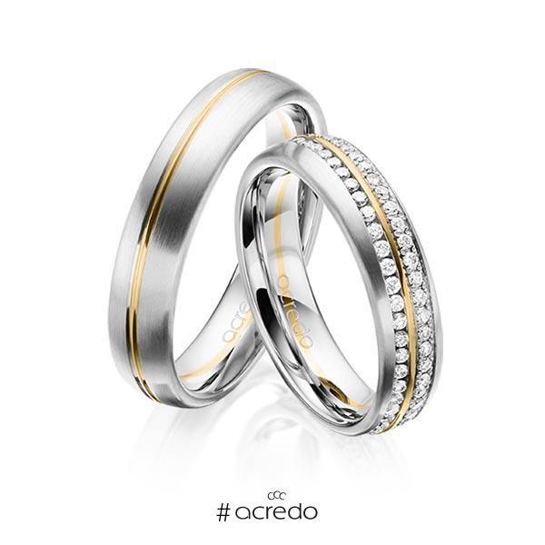 Alianzas De Matrimonio Con Diamantes Opciones En Oro Oro Blanco Platino Oro Rosa Y Anillos De Casados Anillos De Compromiso Anillos De Compromiso De Oro