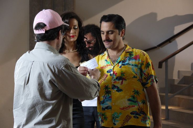 Marcos López fotógrafo de la campaña Gráfica del 27MDQFILMFEST -Con Agustín Pichot