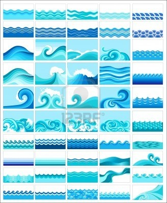 different kind of waves