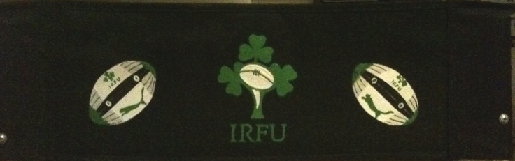 Irish Rugby Guinness - Hand-painted, personalised director's chairs @ Jeg17 Chairs!  www.jeg17.com.au