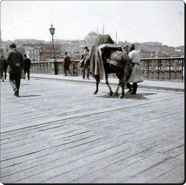 Galata köprüsü - 1900'ler