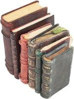 Old books can become musty-smelling and absorb odors from their surroundings.
