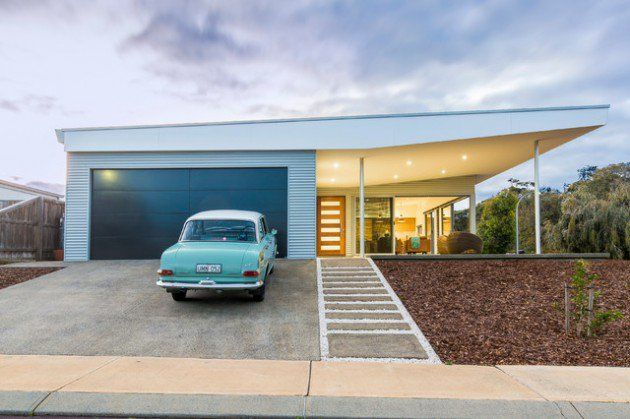 18 Spectacular Mid Century Modern Exterior Designs That Will Bring You Back To…