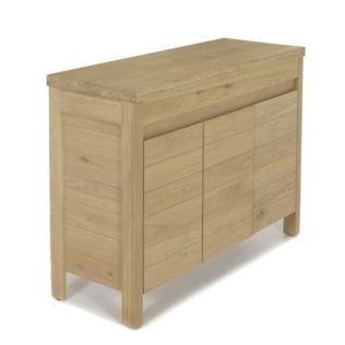 Sous vasque double en chêne Native - Les meubles de salle de bains - Alinea