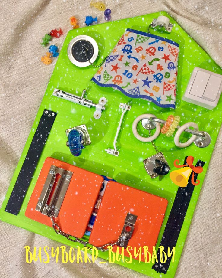 Bright and stylish busyboard,  busy board, activity board, sensory board, montessori educational toy, wooden toy, latch board, lock box, box for child, бизиборд, бизи борд, игровая доска,   интерактивная доска, доска монтессори, игры монтессори, развивающая доска, развивающие игрушки