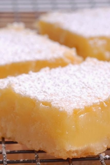 "Low Carb Lemon ""cheesecake"" Bars"