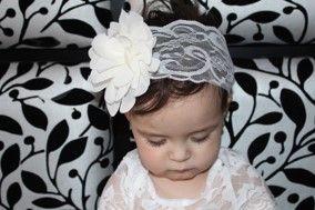 Luxury Lace Headband www.mybabyheadbands.com