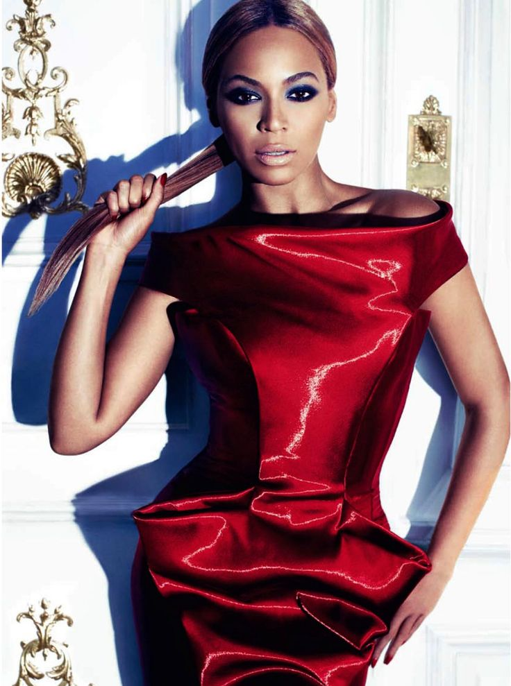 Beyonce in red dress  Beyoncé Giselle Knowles-CarterAlbum ...