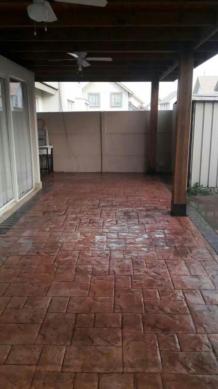 Las 25 mejores ideas sobre patios de concreto estampados for Pisos de patio
