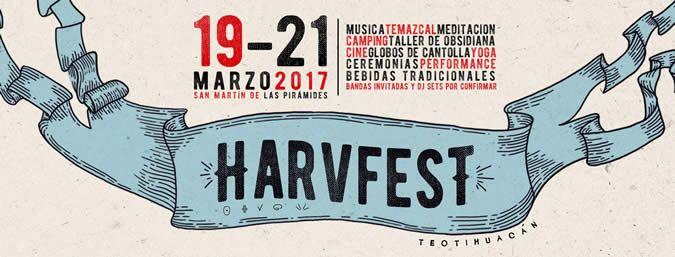 ] MÉXICO * 16 de marzo de 2017- El Festival Harvfest que se realizará del 19 al 21 de marzo en la zona de San Martín de las Pirámides, Teotihuacán, Estado de México, se convertirá en un espacio para poner en alto las tradiciones prehispánicas y para revalorar el significado del equinoccio. En...