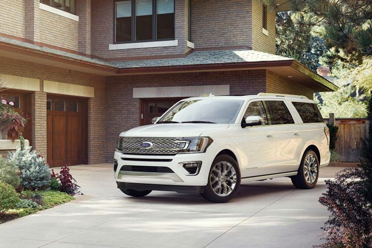 2018 Ford Expedition White