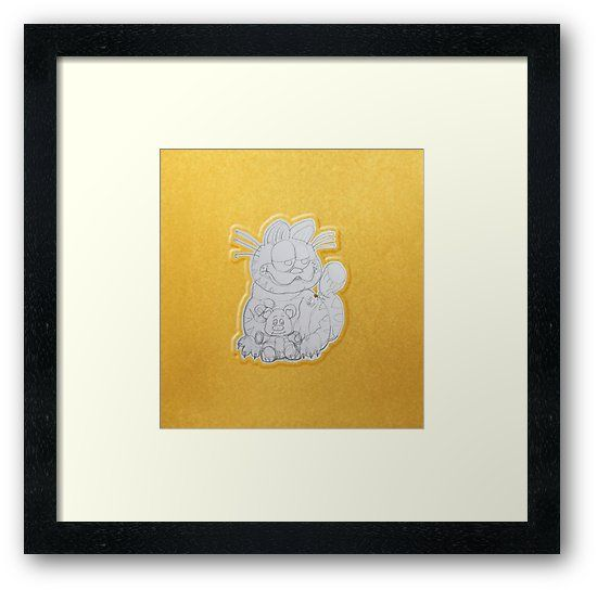 Buy 'Golden Cat with Teddy BearPencil Hand Drawing by Alice' by VanyssaGraphics as a T-Shirt, Classic T-Shirt, Tri-blend T-Shirt, Lightweight Hoodie, Women's Fitted Scoop T-Shirt, Women's Fitted V-Neck T-Shirt, Women's Relaxed Fit T-Shirt,...