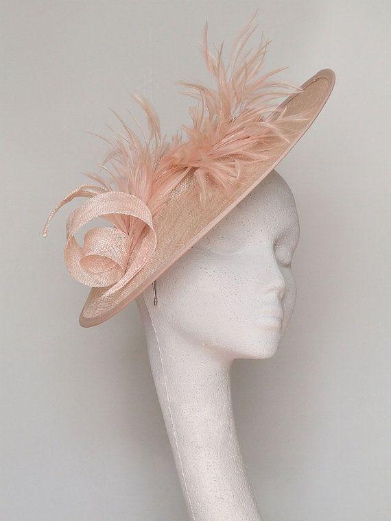 Pale Pink Fascinator Headpiece - 102