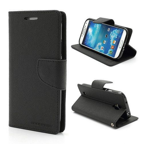 Luxury Wallet Stand Flip Case for Samsung Galaxy S4