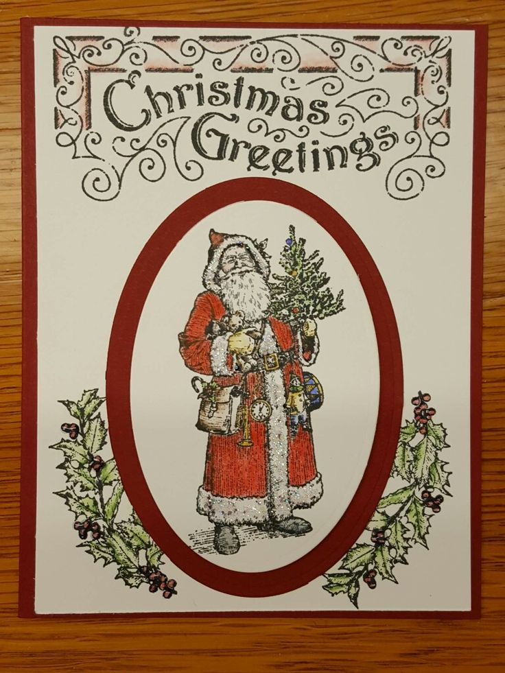 Father  Christmas  by stampin' Up!                                                                                                                                                                                 More