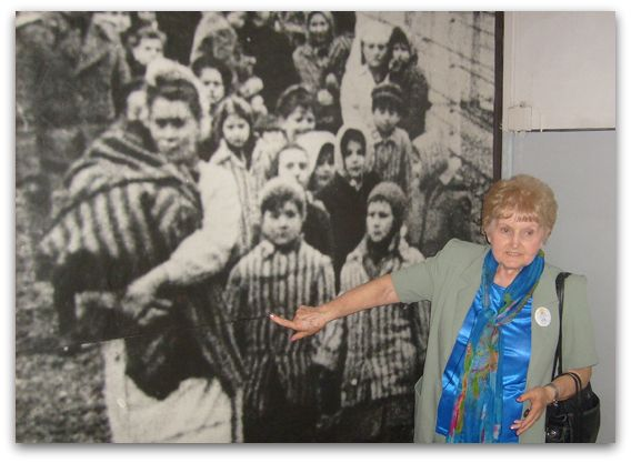 Eva Mozes Kor - Holocaust survivor & author/speaker (What a privilege to meet this sweet, brace lady while she was in town to speak.)