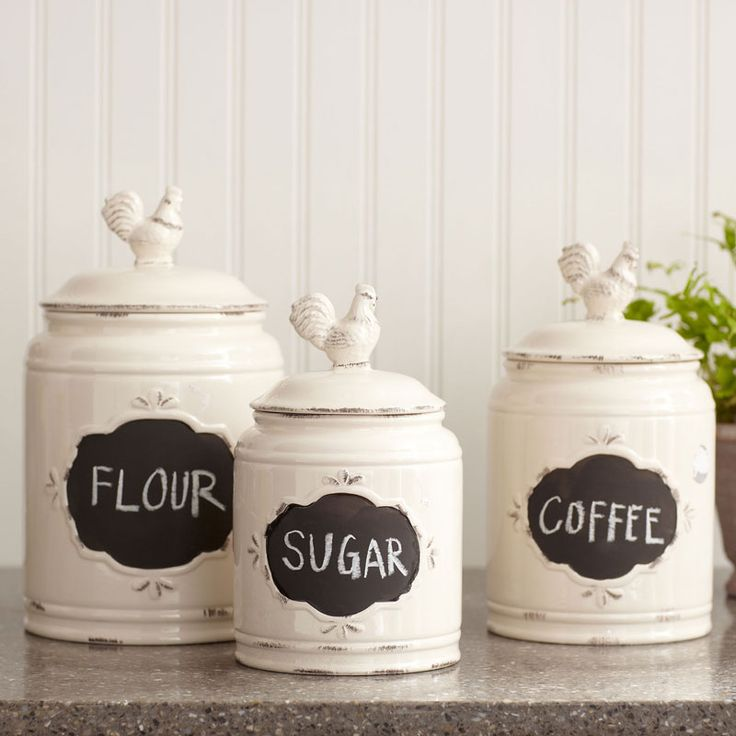 Kitchen Decor Jars: Best 25+ Kitchen Canisters And Jars Ideas On Pinterest