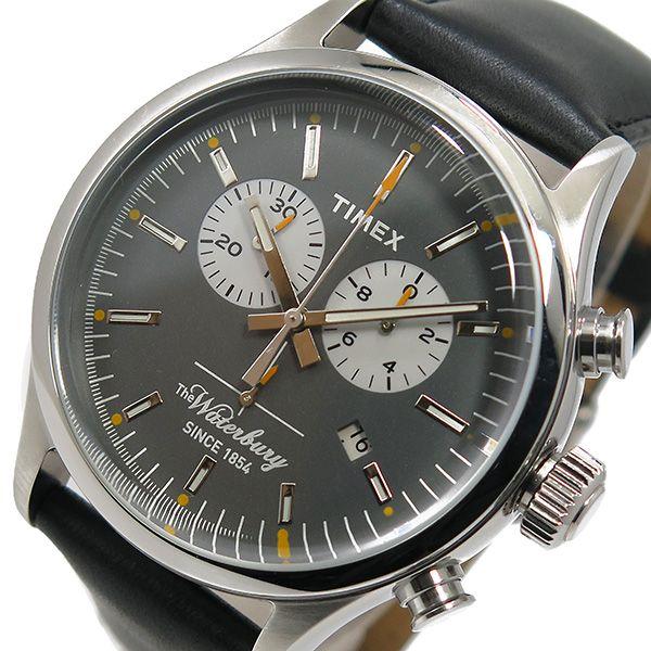 Reloj Timex Clasico Waterbury Chronograph Tw2p75500 Oficial - $ 2.899,00 en Mercado Libre