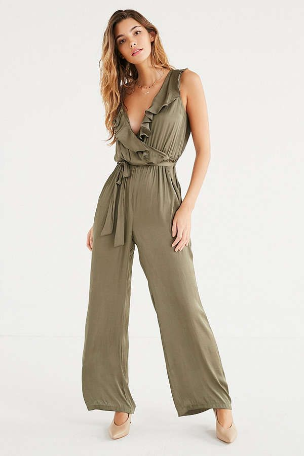 78dccabf5fea Slide View  1  Bardot Milly Ruffle Wrap Jumpsuit