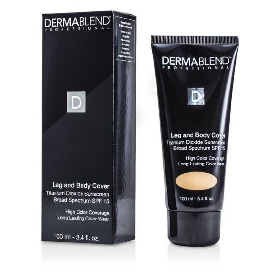 Dermablend - Тональный Крем для Ног и Тела SPF 15 (Полное Покрытие и Стойкость) - Натуральный 100ml/3.4oz