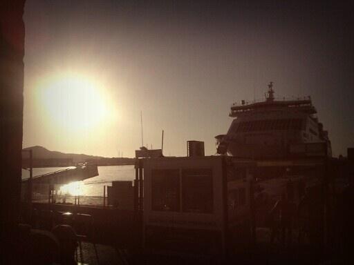 Amanecer en El Puerto de Ibiza