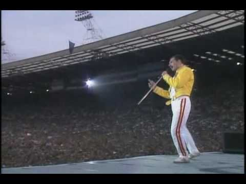 Freddie Mercury's Vocal Improvisation With Public - YouTube