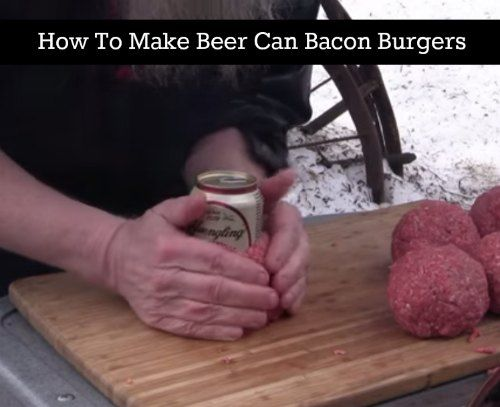 Many types of food are easy to prepare on an outdoor grill. One interesting selection is to prepare some beer can bacon burgers that are really very tasty.