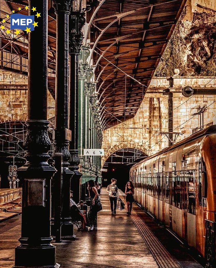 Estação de S. Bento entre as mais bonitas do mundo - Porto - Portugal