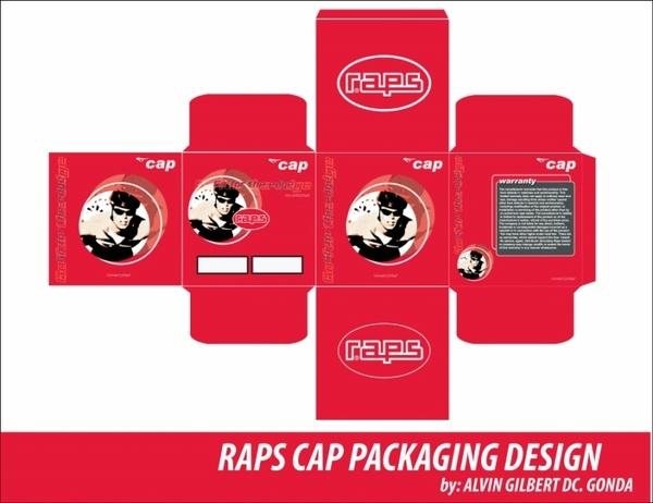 Designer : Alvin Gilbert Dc. Gonda abugonda@yahoo.com  Cap Packaging.