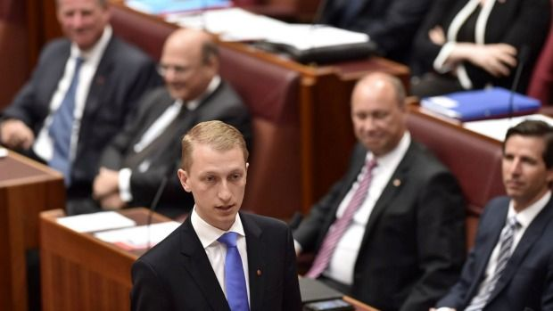 James Paterson's maiden speech proves the 28-year-old Liberal senator will shake things up  Read more: http://www.smh.com.au/federal-politics/political-news/james-patersons-maiden-speech-proves-the-28yearold-liberal-senator-will-shake-things-up-20160315-gnjwse.html#ixzz432NIp0CV  Follow us: @smh on Twitter | sydneymorningherald on Facebook