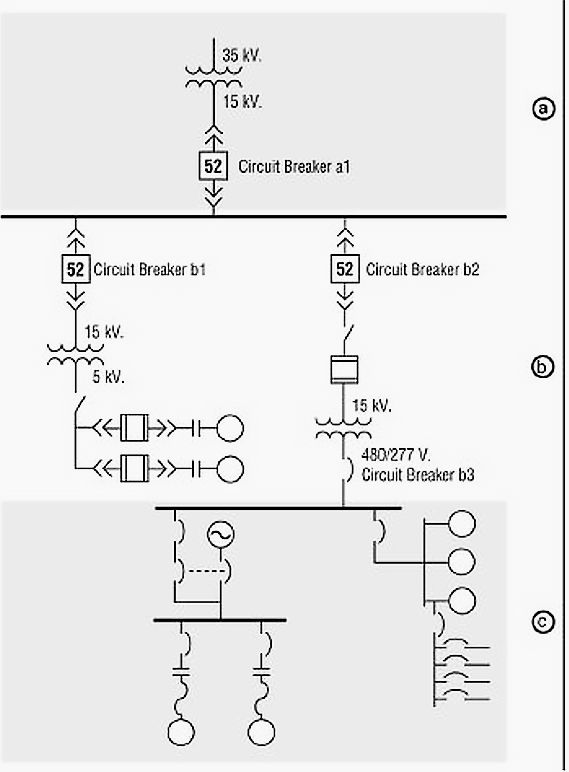 1 line electrical drawing – comvt, Electrical drawing