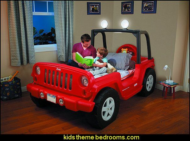 Little Tikes Jeep Wrangler Toddler To Twin Bed Decorate
