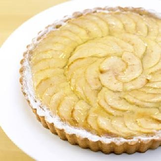 Apple Flan The English Were First To Invent Open Pastry S Tart Or