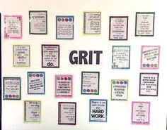 Growth mindset for the secondary school classroom. Motivate your math students with these posters!
