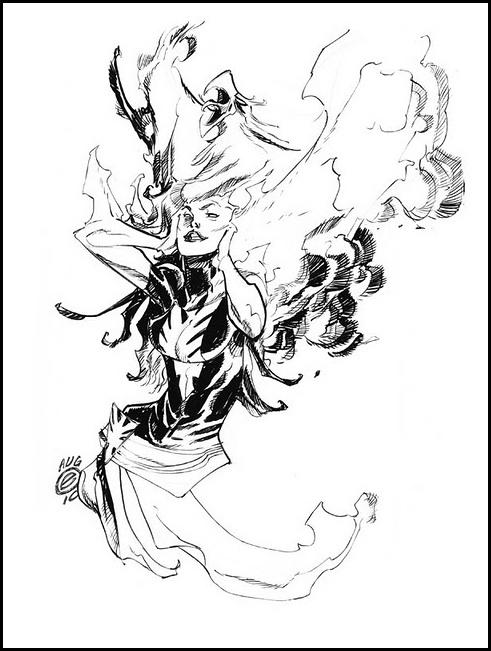 Phoenix by Eric Canete Comic Art