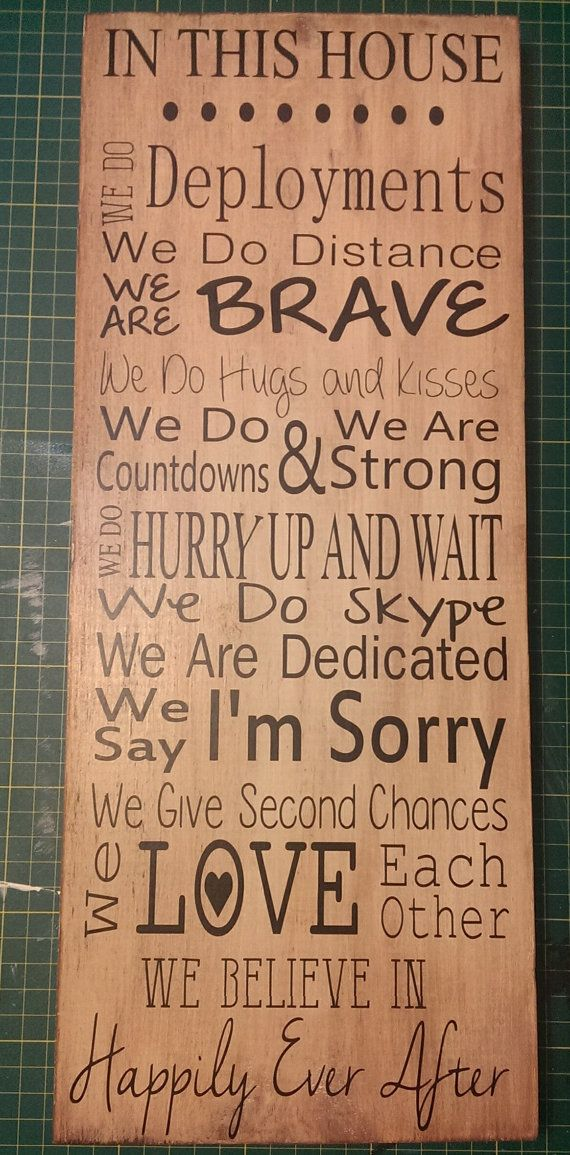 In this house we do wall hanging Deployment by LittleHouseMarket