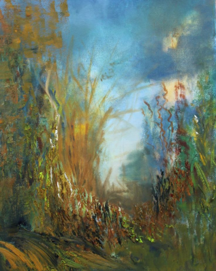 Finding One's Path by BevAlldridgeArt on Etsy
