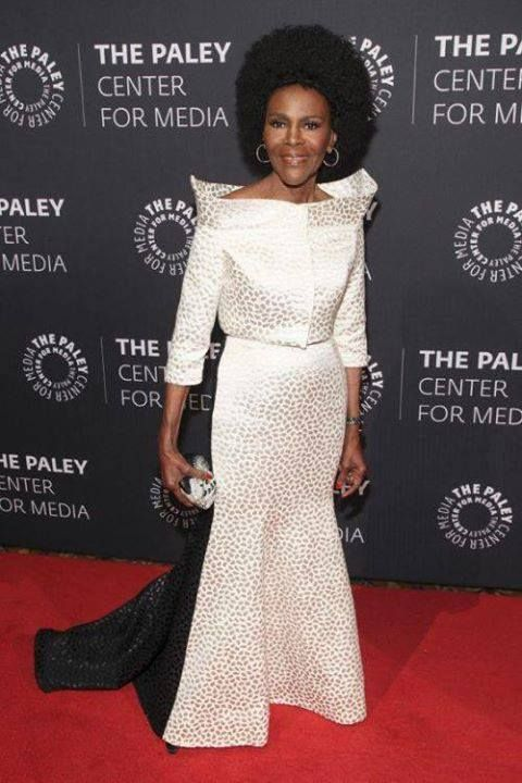 Cicely Tyson is 90. One year older than the Queen of England. Wow!  Beautiful Eternally!