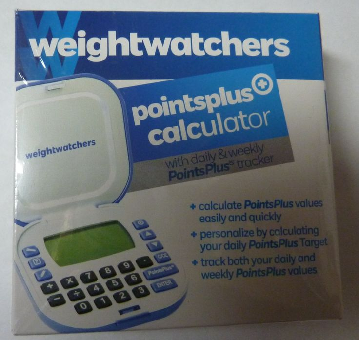 weight watchers smart points calculator instructions
